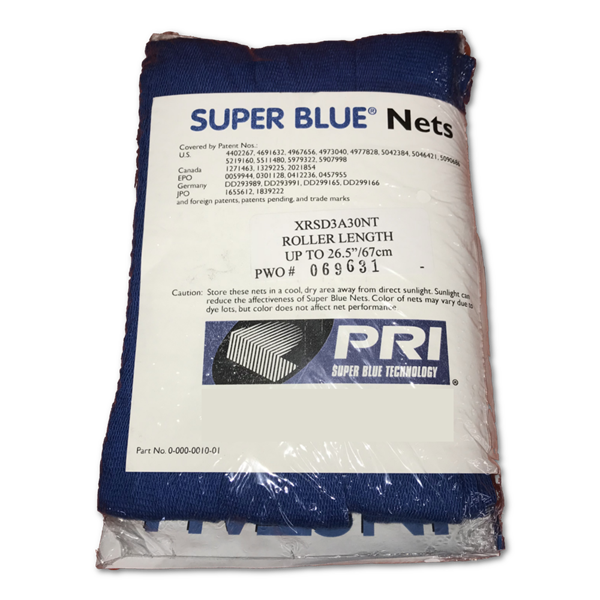 Super Blue Original Roller System Anti-Marking Nets