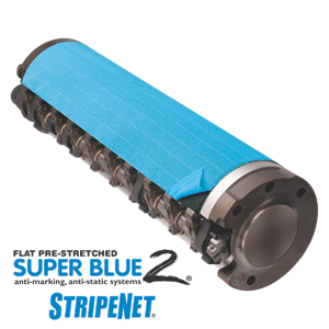 Super Blue 2 StripeNet - Precision Cut Anti-Marking Nets