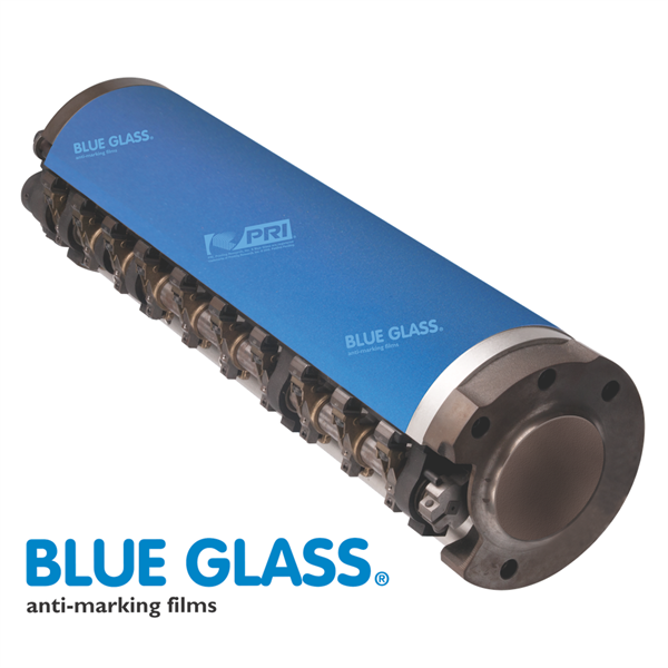 Blue Glass Bead Anti-Marking Jacket SM72